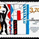 LeCorbusier Poet Stamp