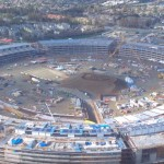 Latest Apple Campus 2 flyover gives up close look as exterior nears completion