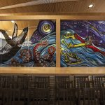 Touring the new Alaska State Library, Archives and Museum building