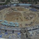 New drone flyover video shows progress on Apple Campus 2