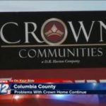 More problems with Crown Communities' home
