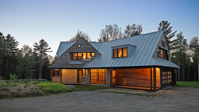 Contemporary farmhouse design   A/E Graphics, Inc