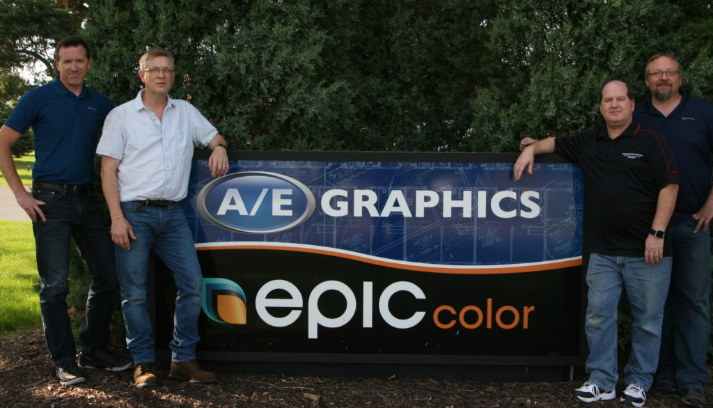 A/E Graphics Owners Tom, Dan, Tim & Joe